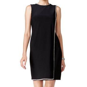 Betsy & Adam BlackSize 4 Embellished Dress